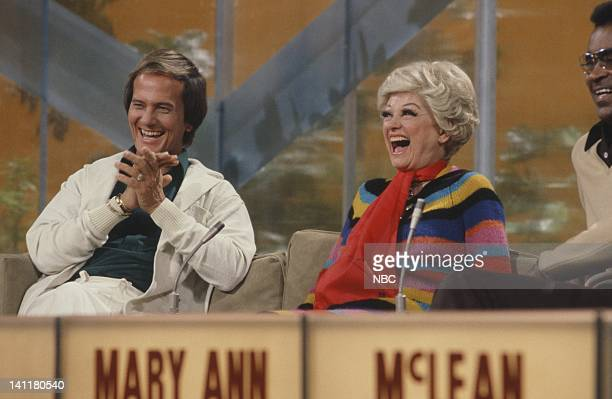 SECRETS Episode 1 Air Date Pictured Singer Pat Boone comedian Phyllis Diller Photo by Gary Null/NBCU Photo Bank