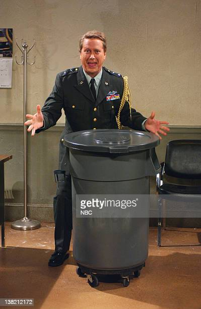 LIVE Episode 1 Aired Pictured Darrell Hammond as General Mills during 'The Sex Robot' skit