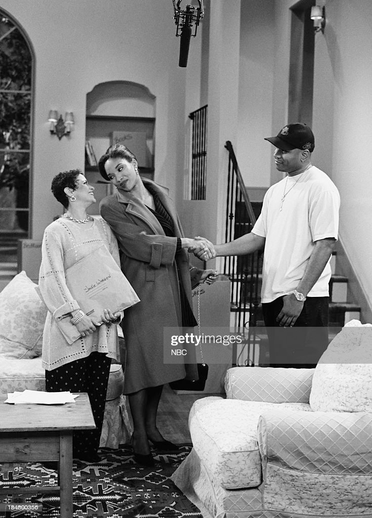 HOUSE -- Episode 1 -- 'Getting To Know You' -- Pictured: (l-r) <a gi-track='captionPersonalityLinkClicked' href=/galleries/search?phrase=Debbie+Allen&family=editorial&specificpeople=210660 ng-click='$event.stopPropagation()'>Debbie Allen</a> as Jackie Warren, Lisa Arrindell Anderson as Heather Comstock, and L.L. Cool J as Marion Hill --