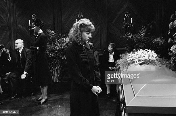 Robin Duke as Ruth during the ''Strangers at the Funeral Parlor'' skit on October 3 1981