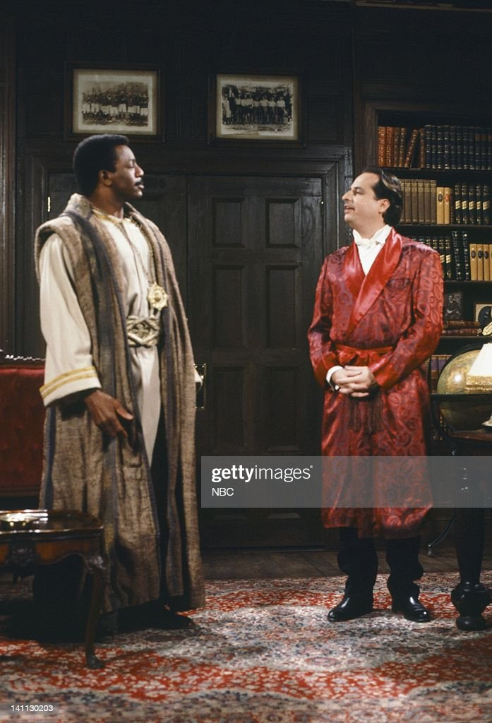 Carl Weathers as Chin-Hua, Jon Lovitz as Master Thespian during 'Master Thespian' skit -- Photo by: Al Levine/NBC/NBCU Photo Bank