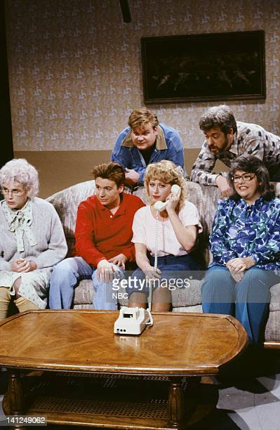 Julia Sweeney as grandma Mike Myers as Art Chris Farley as Bob Victoria Jackson as Rene Becker Phil Hartman as father Bonnie Turner as Aunt Rose...