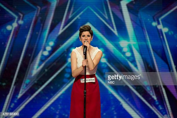 S GOT TALENT Episode 1002 'Los Angeles Auditions' Dolby Theater Pictured Alicia Michilli