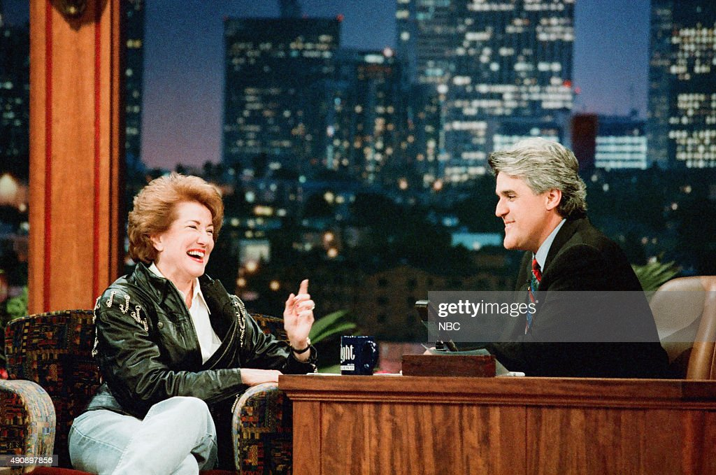 Politcian Elizabeth Dole during an interview with host Jay Leno on September 30, 1996 --