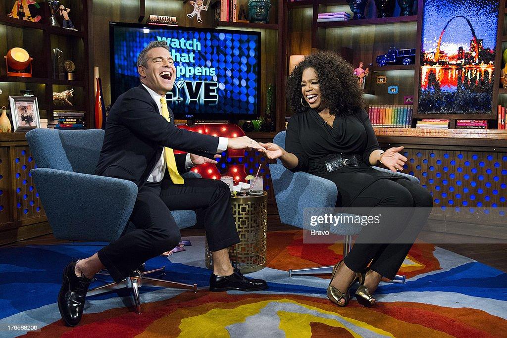 Andy Cohen, Oprah Winfrey --