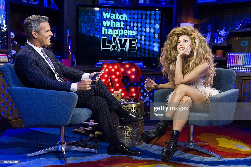 Andy Cohen, Lady Gaga --