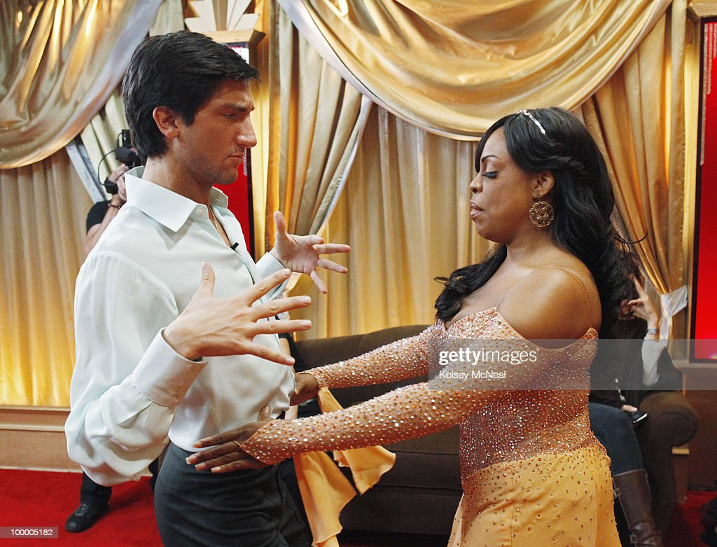 SHOW - 'Episode 1008A' - The seventh couple to be eliminated this season was sent home on 'Dancing with the Stars the Results Show,' TUESDAY, MAY 11 (8:00-9:00 p.m., ET). (Photo by Kelsey McNeal/ABC via Getty Images) EVAN