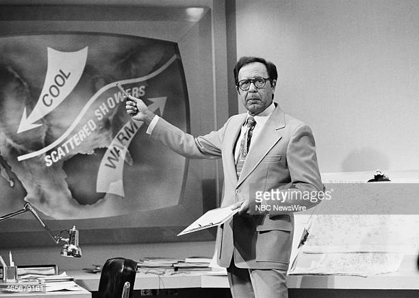 NBC News' Frank Field during the premiere episode on April 29 1974