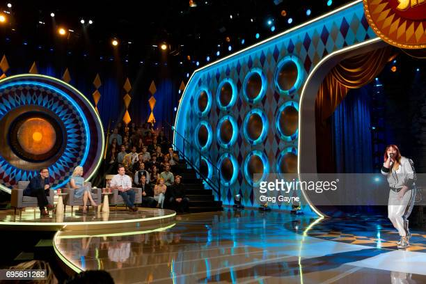 SHOW 'Episode 103' Celebrity judges Fred Armisen Elizabeth Banks and Will Forte are set to praise critique and gong unusually talented and unique...