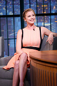 Actress Emily VanCamp during an interview on September 25 2014