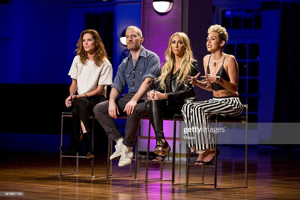 Judges Erin Wasson Mel Ottenberg Tish Cyrus Miley Cyrus