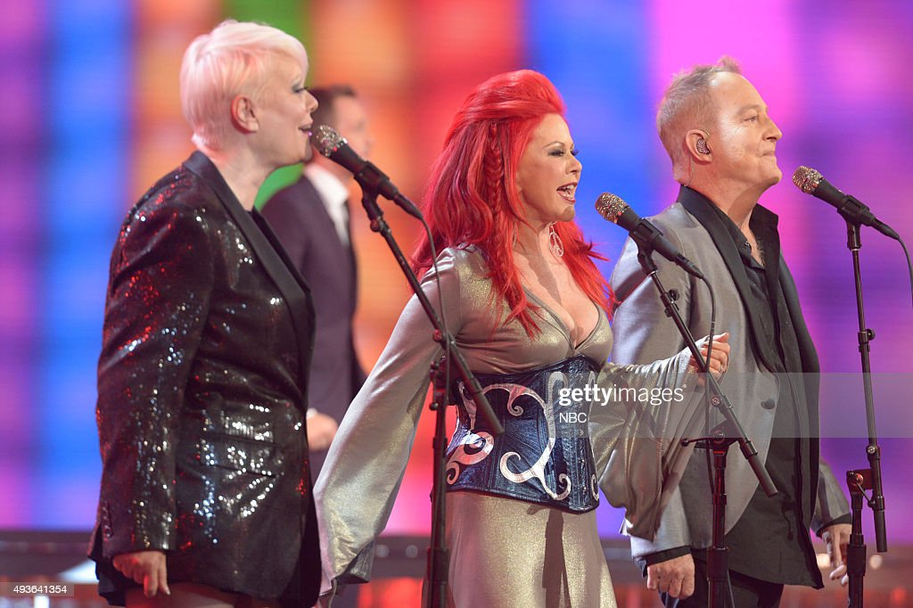 Cindy Wilson Kate Pierson Fred Schneider of the B52s