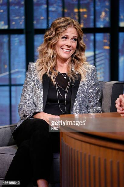 Actress Rita Wilson during an interview on October 1 2014