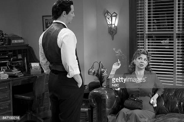 Sean Hayes as Detective Burt Cassidy Maya Rudolph during the 'Burt Cassidy Gay Detective' sketch on July 12 2016