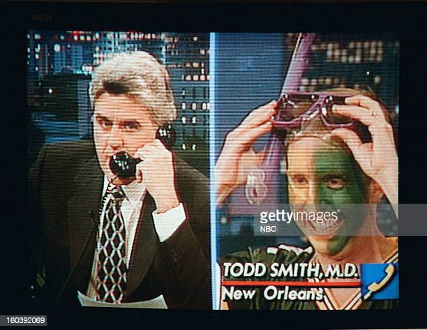 Host Jay Leno on a phone interview January 27 1997