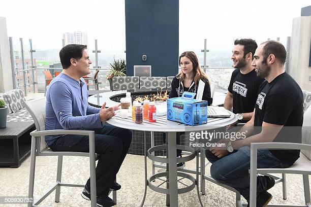 TANK 'Episode 110' Mark Cuban goes oneonone with the Austin TX team from Beatbox a boxed wine geared to millennials Beatbox creators Justin Fenchel...