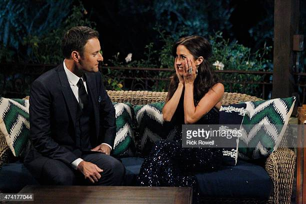 THE BACHELORETTE 'Episode 1101B' The action picks up with Britt and Kaitlyn anxiously awaiting the results of the men's vote Chris Harrison prepared...
