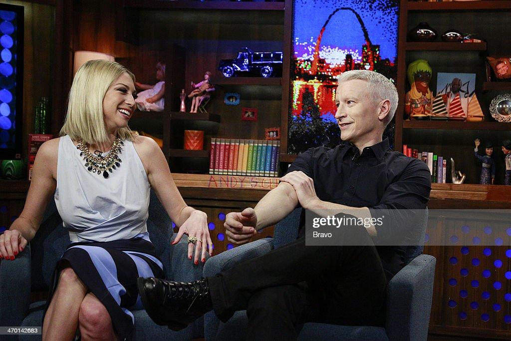 Stassi Schroeder, Anderson Cooper --