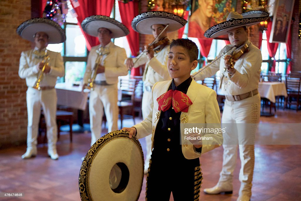 THE BACHELORETTE - 'Episode 1105' - Ten men are treated to a visit by Sebastian De La Cruz, a delightful 13-year-old Mariachi superstar, and his band El Charro De Oro. A bunch of nervous bachelors try their hand at writing their own Mariachi songs and performing them in front of a cheering crowd. One man's badly sung love ballad captures Kaitlyn's heart. But the after party mood is soured when the bachelors continue to harass her about why Nick is still there, on 'The Bachelorette,' MONDAY, JUNE 15 (8:00-10:01 p.m., ET), on the ABC Television Network.
