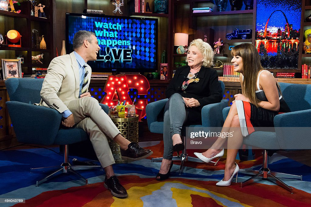 Andy Cohen, Debbie Harry, Lea Michele --