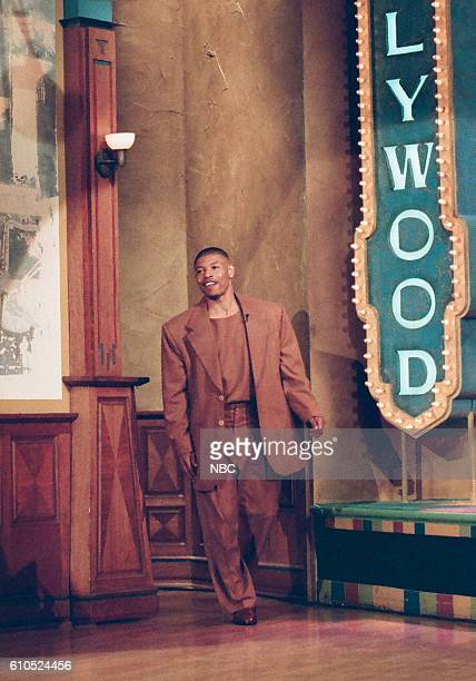 NBA athelete Muggsy Bogues arrives on May 27 1997