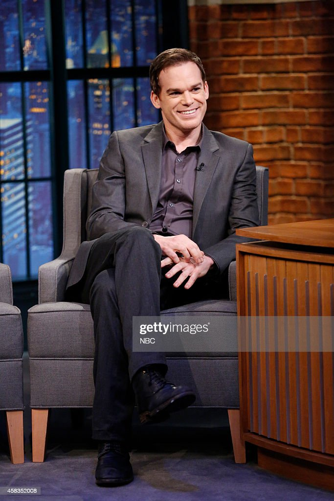 """NBC's """"Late Night with Seth Meyers"""" With Guests Kerry Washington, Michael C. Hall, Joe Hill"""