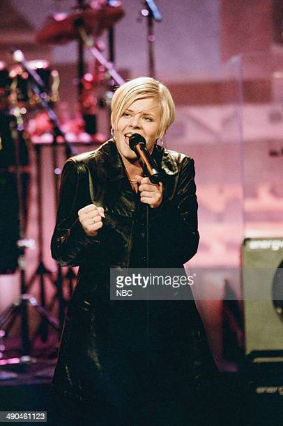 Musical guest Robyn performs on August 13 1997