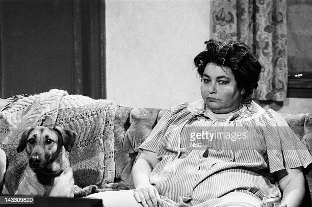 Roseanne Barr as mother during 'White Trash History Minute' skit on February 16 1991