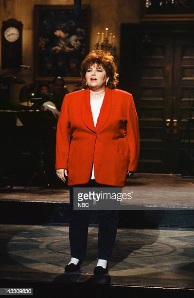 Roseanne Barr during the monologue on February 16 1991