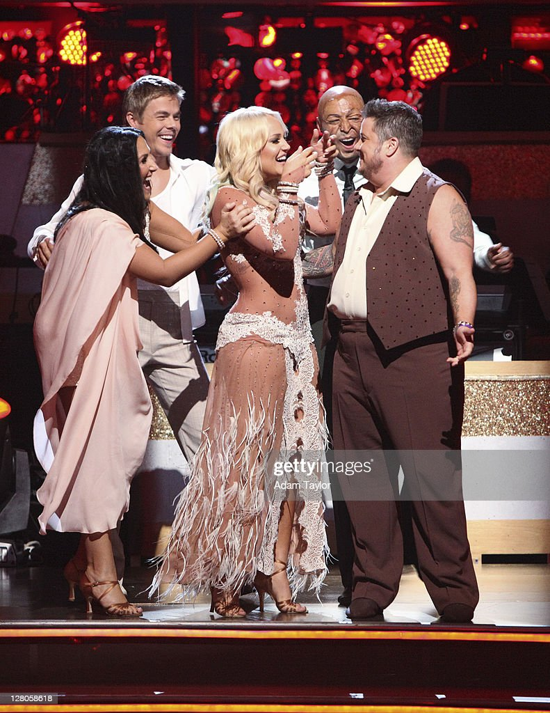 SHOW - 'Episode 1303A' - The remaining couples waited to see who would be eliminated, as determined by a combination of the judges' scores and viewers' votes on dances performed on Monday's performance show, on 'Dancing with the Stars the Results Show,' TUESDAY, OCTOBER 4 (9:00-10:01 p.m., ET), on the ABC Television Network. BONO