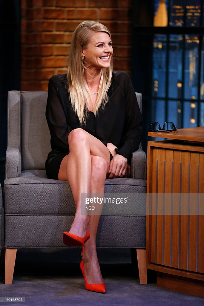 Actress Eliza Coupe during an interview on December 8, 2014 --