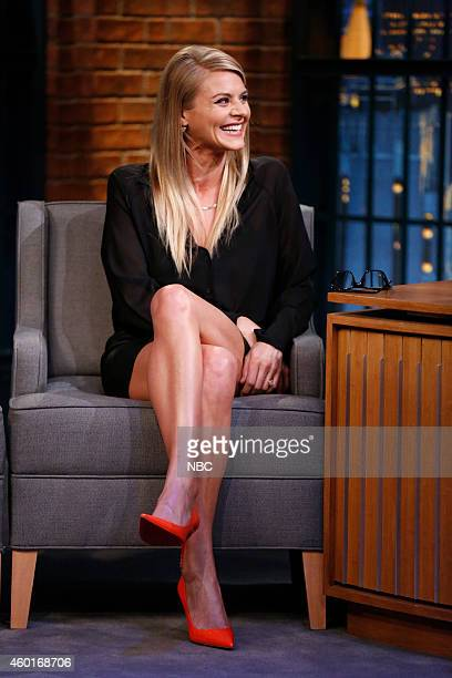 Actress Eliza Coupe during an interview on December 8 2014