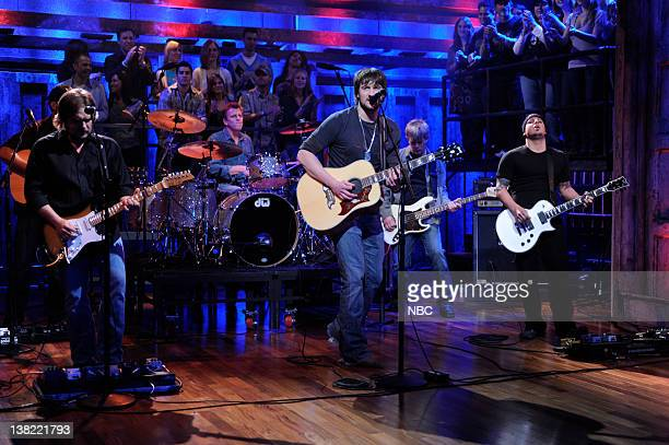 FALLON Episode 14 Airdate Pictured Musical guest Eric Church performs on March 19 2009