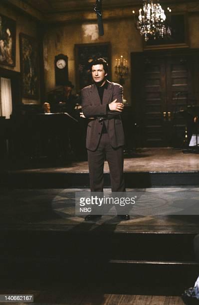 Alec Baldwin during the Monologue on February 23 1991 Photo by Raymond Bonar/NBCU Photo Bank