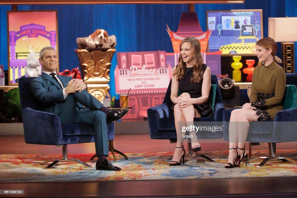 Andy Cohen, Hilary Swank, Kate Mara --