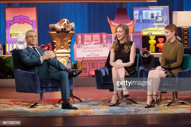Andy Cohen Hilary Swank Kate Mara