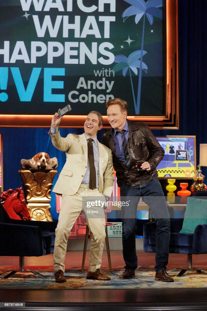 Andy Cohen, Conan O'Brien --