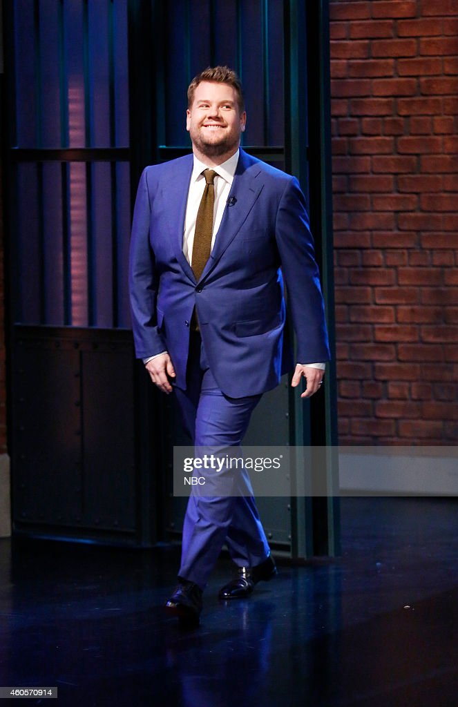 Actor James Corden arrives on December 16, 2014 --
