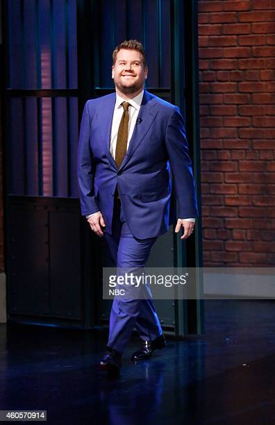 Actor James Corden arrives on December 16 2014