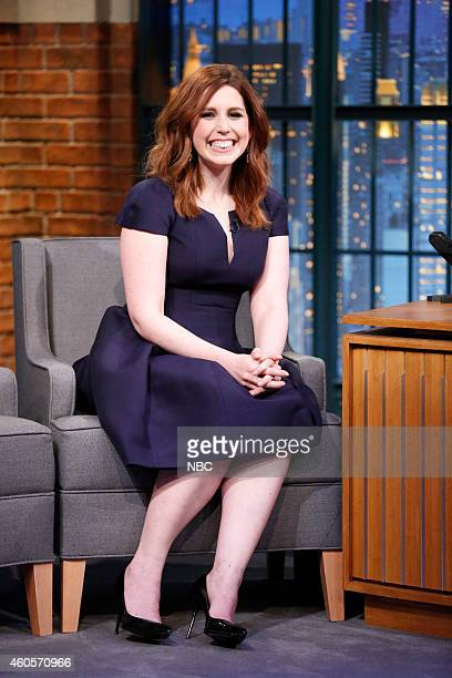 Actress Vanessa Bayer during an interview on December 16 2014