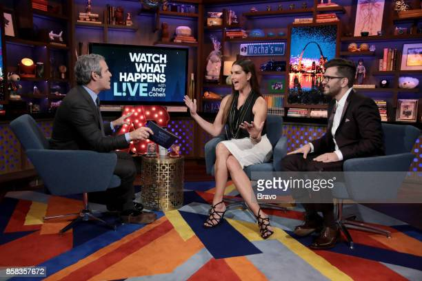 Andy Cohen Brooke Shields Andy Grammer