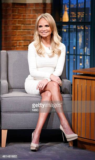 Actress Kristin Chenoweth during an interview on January 12 2015