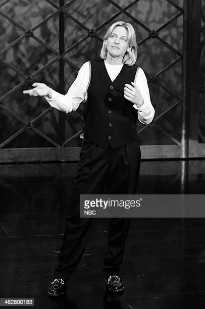 Comedian Ellen DeGeneres performs on January 14 1993