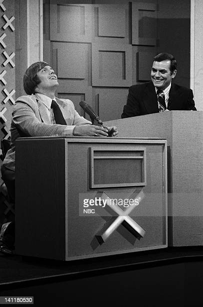 SQUARES Episode 15 Air Date Pictured unknown contestant host Peter Marshall Photo by Frank Carroll/NBCU Photo Bank