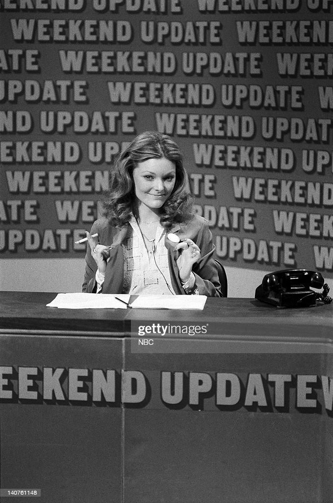 Jane Curtin during 'Weekend Update' on March 25, 1978 -- Photo by: NBCU Photo Bank