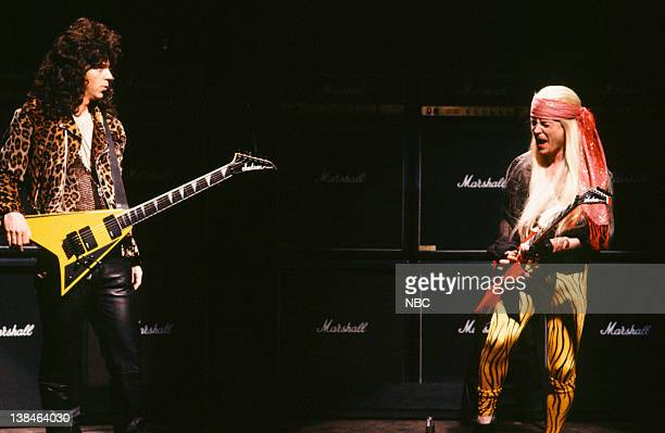 Musical guests the Black Crowes perform on March 16 1991