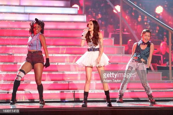SHOW 'Episode 1502A' Cher Lloyd the 19 yearold pop powerhouse took to the 'Dancing with the Stars' stage performing her hit single 'Want You Back' on...