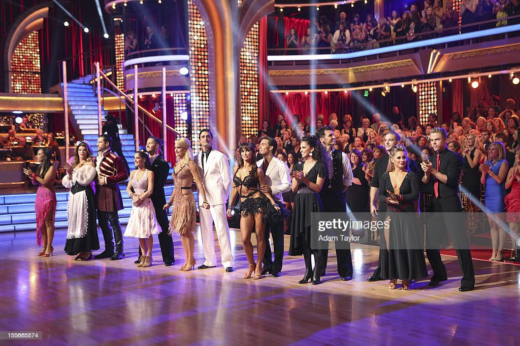 ALL-STARS - 'Episode 1507' - During this week's two-hour performance show on MONDAY, NOVEMBER 5 (8:00-10:01 p.m., ET), the seven remaining couples performed a fusion dance that was chosen by their competitors on last week's show. HOUGH