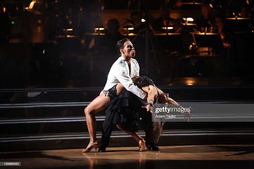 ALL-STARS - 'Episode 1507' - During this week's two-hour performance show on MONDAY, NOVEMBER 5 (8:00-10:01 p.m., ET), the seven remaining couples performed a fusion dance that was chosen by their competitors on last week's show. SMIRNOFF