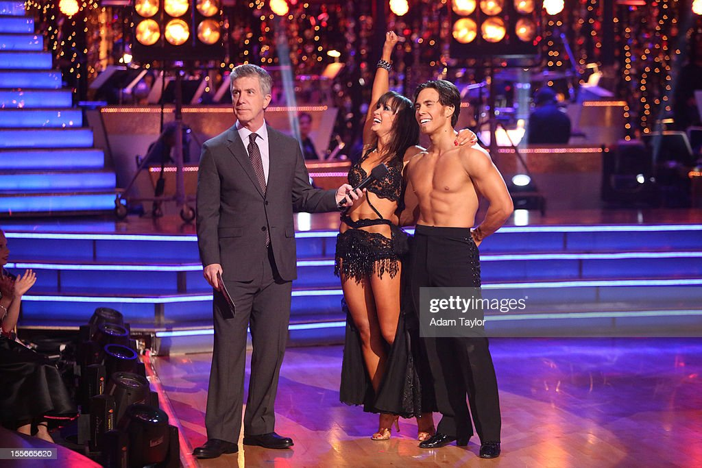 ALL-STARS - 'Episode 1507' - During this week's two-hour performance show on MONDAY, NOVEMBER 5 (8:00-10:01 p.m., ET), the seven remaining couples performed a fusion dance that was chosen by their competitors on last week's show. OHNO